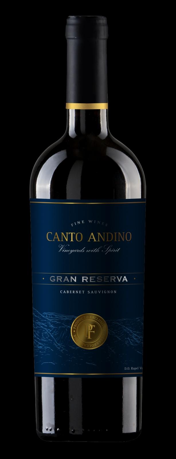 PUNTI FERRER CANTO ANDINO GRAND RERSERVA CABERNET SAUVIGON 0.75l