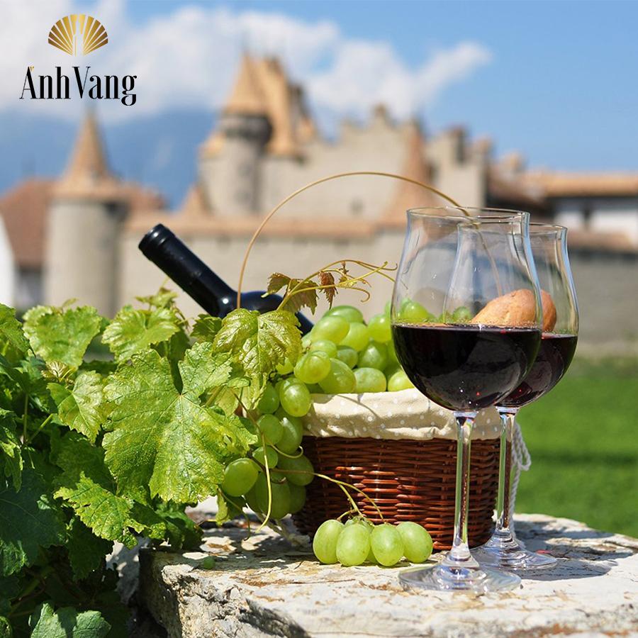 Say đắm trong rượu vang Pháp Chateau