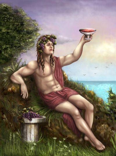 Thần rượu nho Dionysus (Bacchus)
